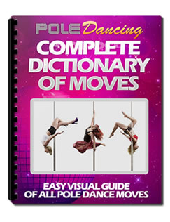 pole dance moves book