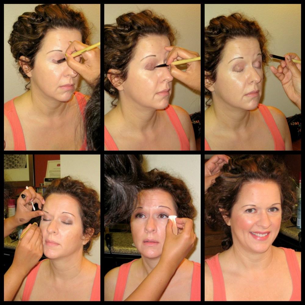 Here Comes The Bride: Tonya's Wedding Hair & Makeup (3/5)