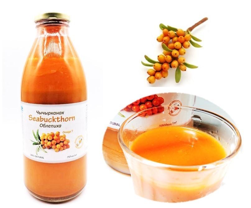 """栄養たっぷり!キルギス共和国""""奇跡のフルーツ""""を使用した 『沙棘サジー/シーバクソン100%ジュース』初輸入  2021年8月28日販売開始"""