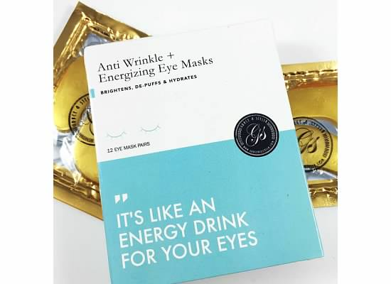 Anti Wrinke + Engergizing Eye Masks
