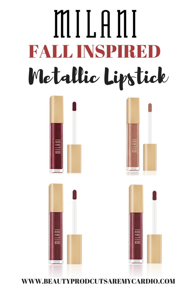 FALL INSPIRED SWATCHES: Milani Metallic Lip Cremes