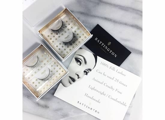 False Eyelashes with Battington Lashes