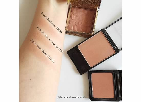 Drugstore Dupes - Rockateur Dupe - Japonesque Blush Shade 2