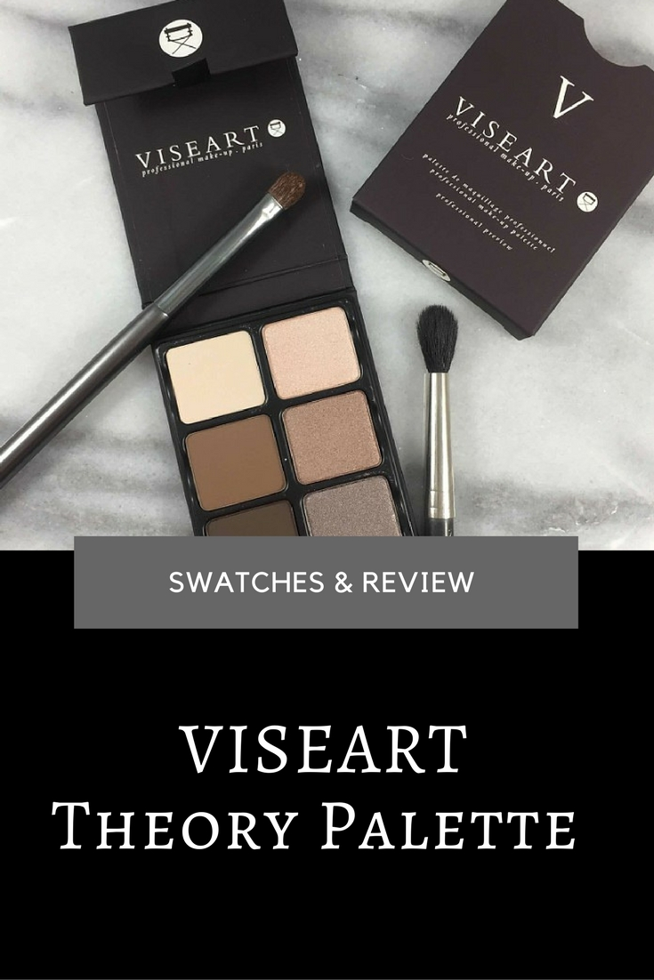 Viseart Theory Palette: Swatches & Review