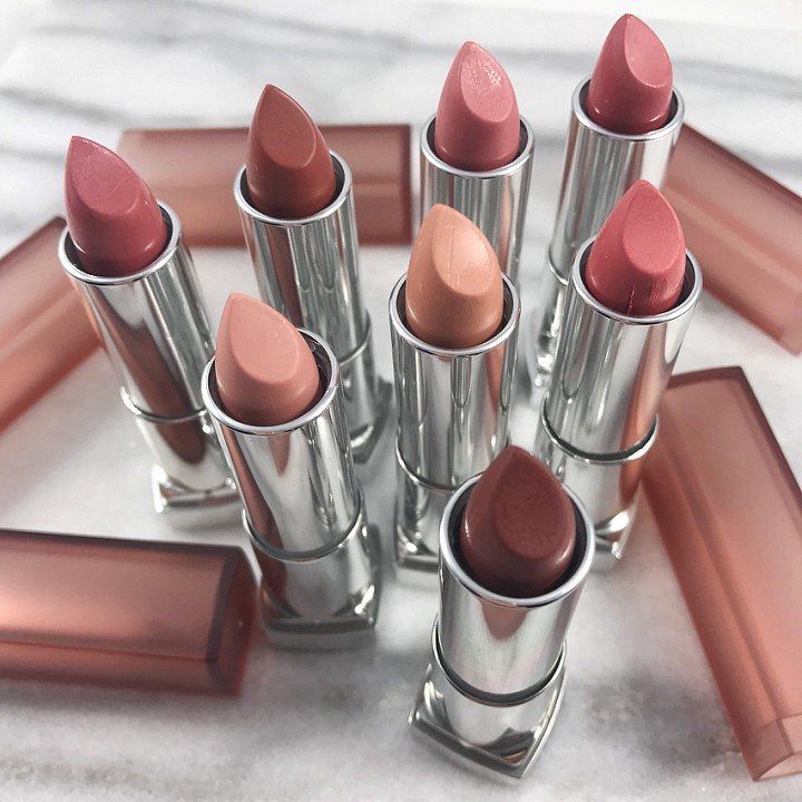 Meet Your New Nudes: Maybelline Color Sensational Inti-Matte Nudes