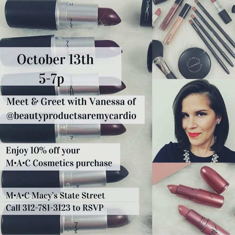 Girls Night Out: MAC COSMETICS & MACY'S