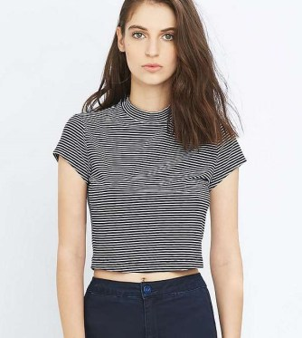 Urban Outfitters Light Before Dark striped top