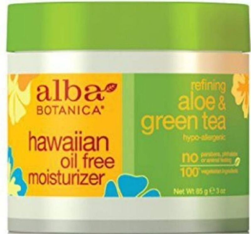 Oil Free Moisturizer cream aloe & green tea