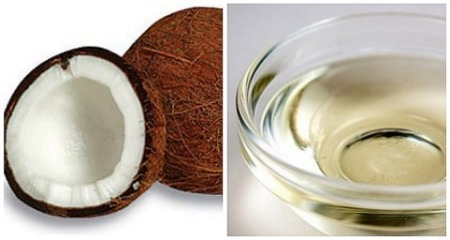 Avocado and coconut hair oil
