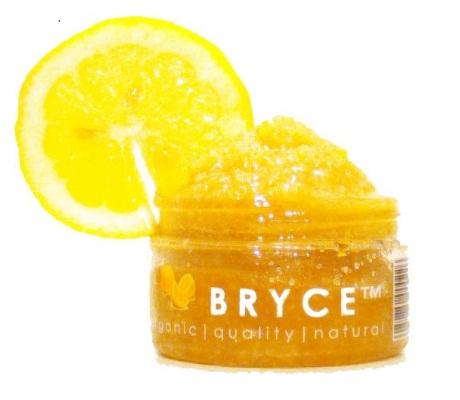 Bryce Organics California Meyer Lemon Exfoliating Facial Polishing Scrub