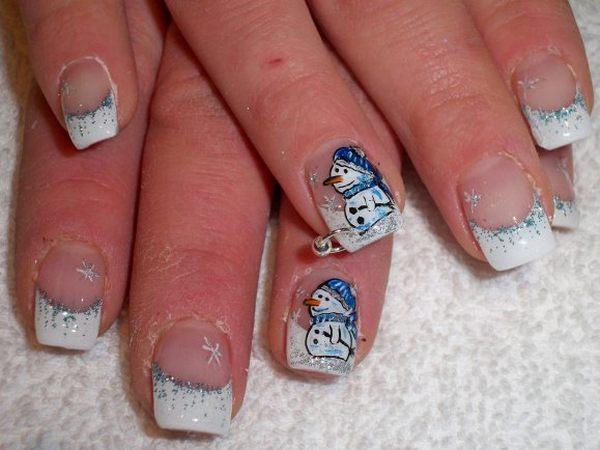 Embellished nail art