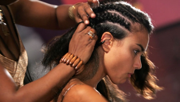 How to make braid conrows