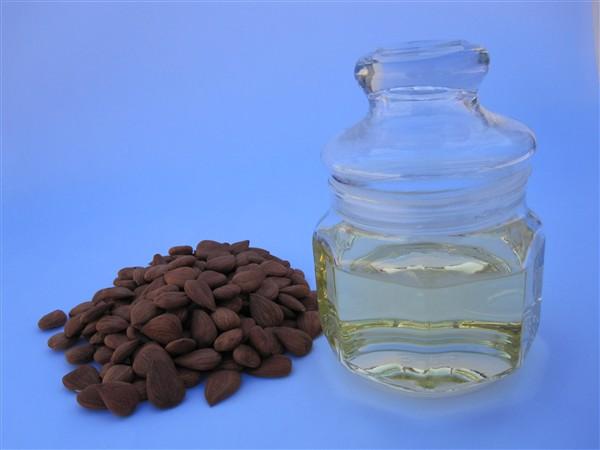 message almond oil