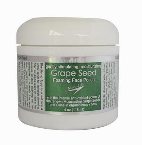 Nutra-Lift Grape Seed Foaming Face Polish