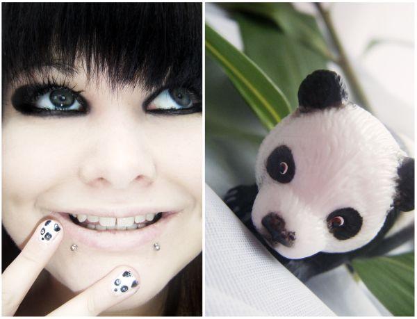 Panda Eye makeup
