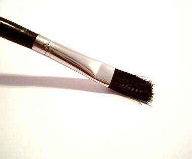 Homemade makeup brushes