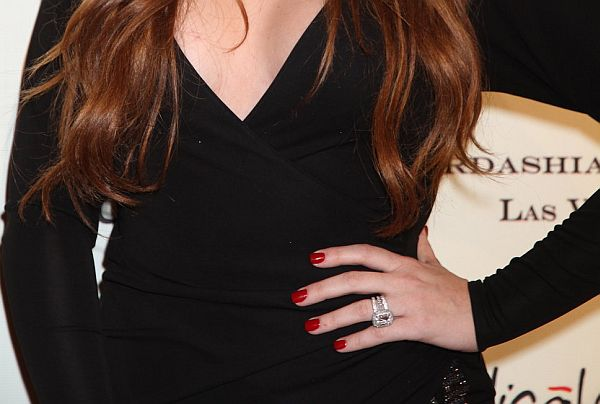 Black Dress plus Red Nails