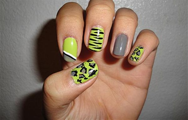 Undone nail design