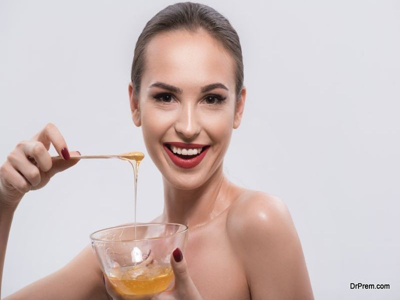 Honey for the skin