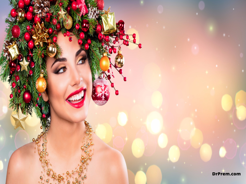 Give yourself a new look this festive season with these Christmas inspired makeup looks
