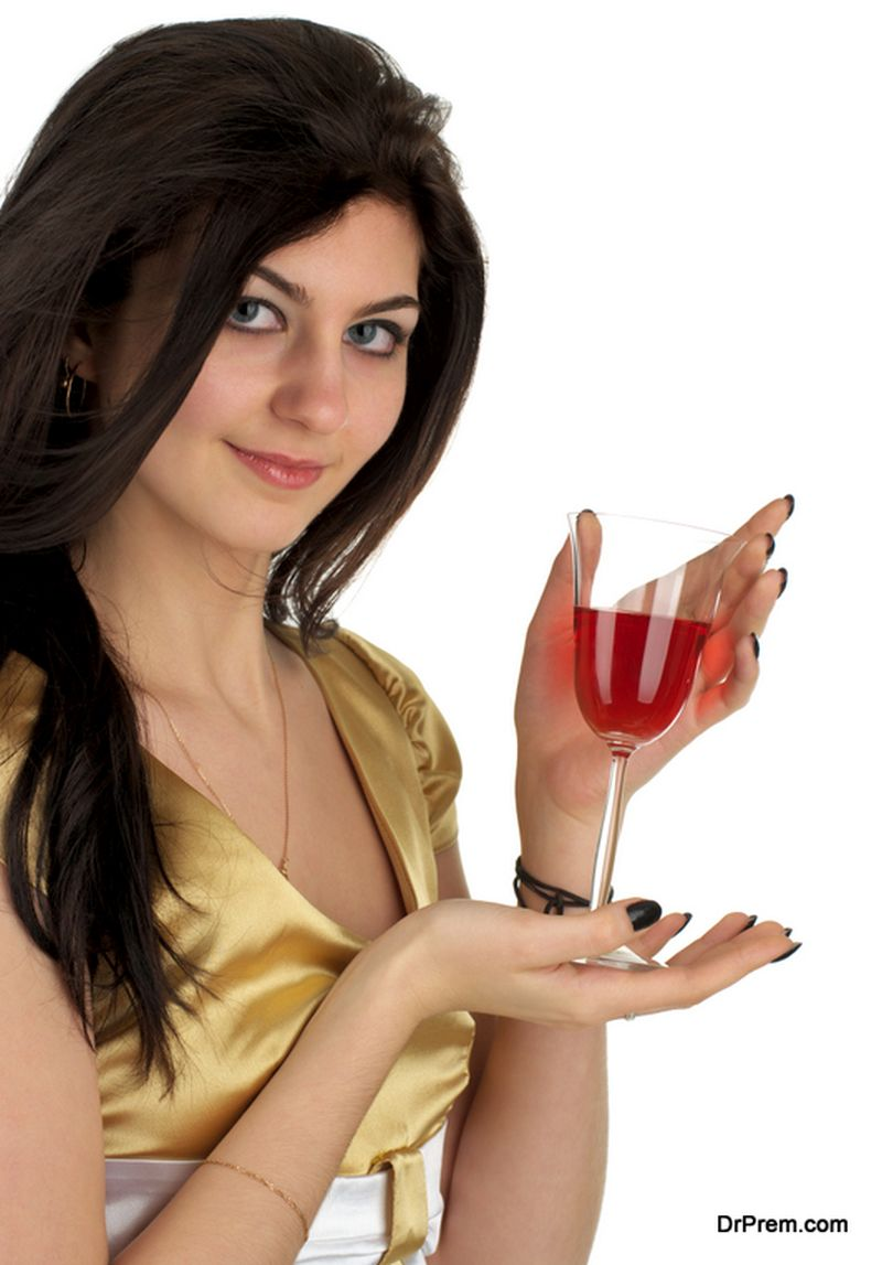 Benefits of red wine for hair
