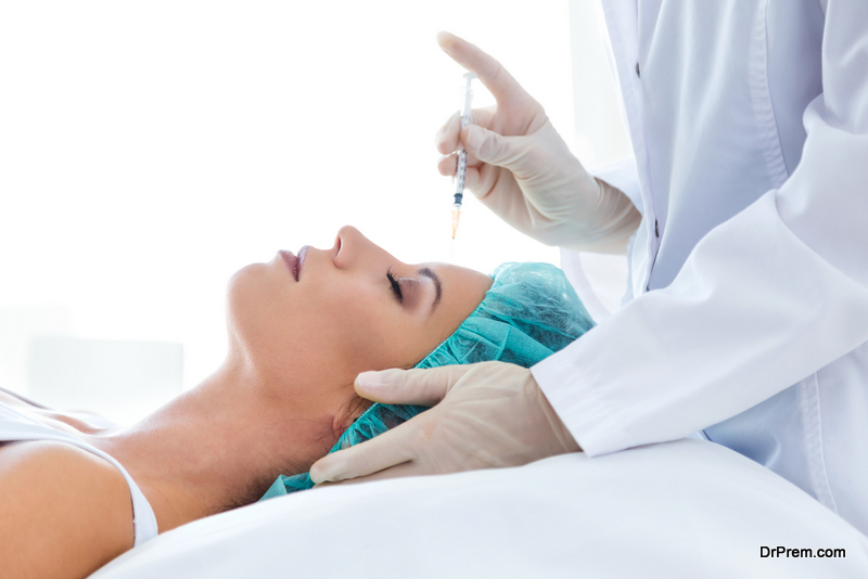 Botox cosmetic treatment