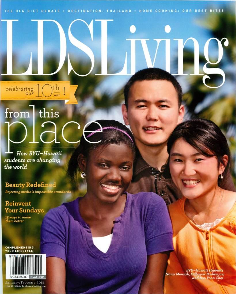 lds living magazine - 820×1023