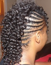 mohawk braids 12 braided
