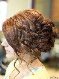 Prom Hairstyles Bun Braid