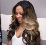 cute sew in hairstyles