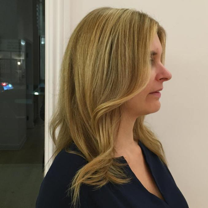 Image Result For Blonde Hair With Black Tips
