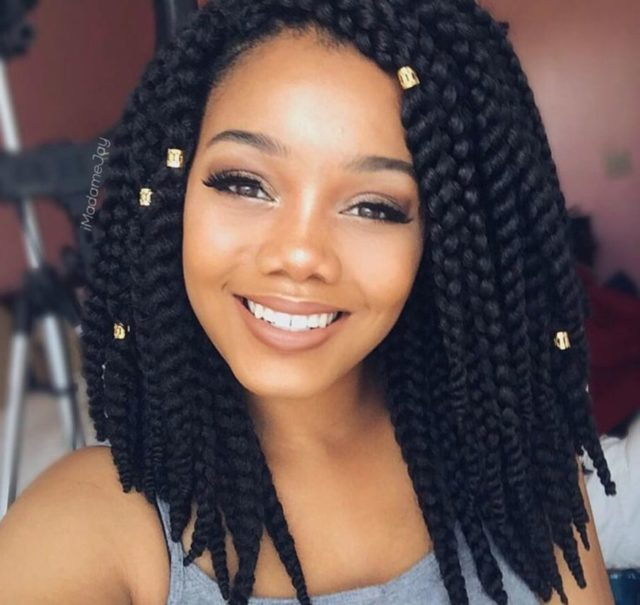 Crochet Braids 15 Twist Curly And Straight Crochet Hairstyles