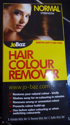 JoBoz Hair Colour Remover in Normal Strength
