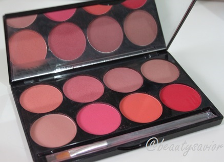 Mehron Powder Cheek Palette