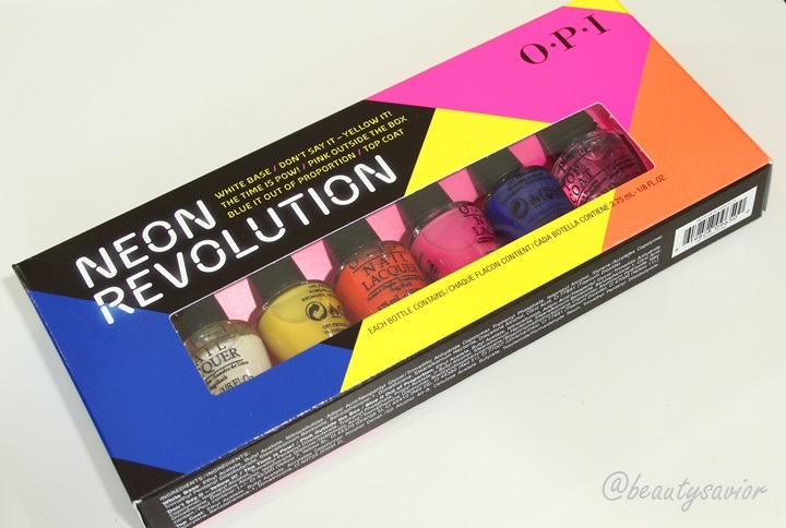 OPI Products Miniature Neon Revolution