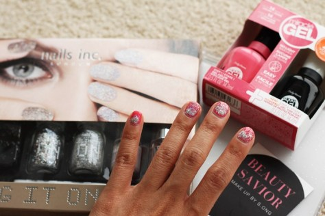 Sally Hansen and Nail Inc