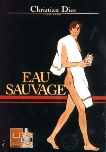 vecchia campagna pubblicitaria firmata René Gruau