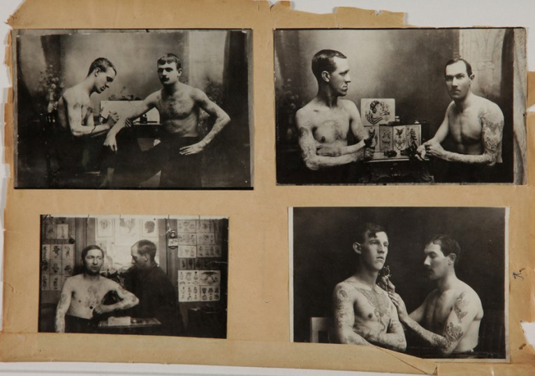 Foto scattate nel dipartimento di polizia di Lione tra gli anni'20 e '40 © Gdalessandro/ENSP