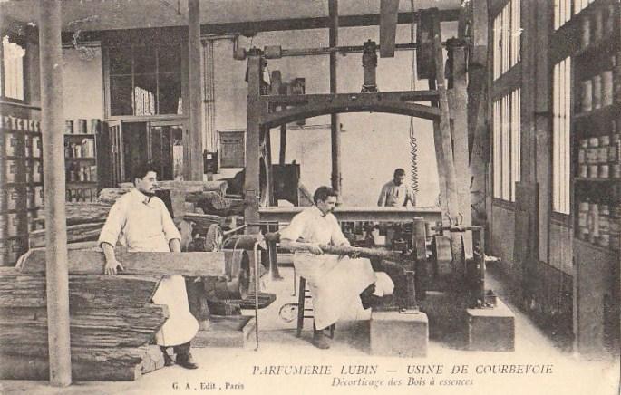 Lubin i laboratori nel 1880