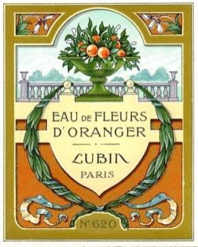 lubin-étquette fleurs d'oranger