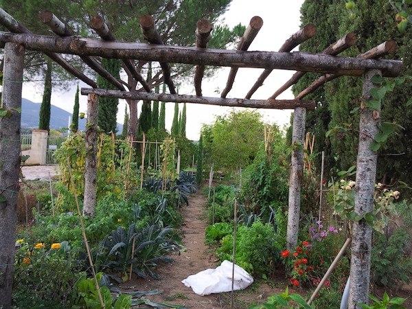 Il giardino di famiglia in Toscana