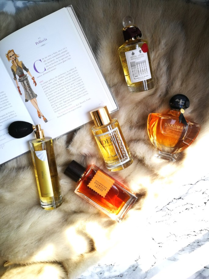 vintage or fake fur perfumes