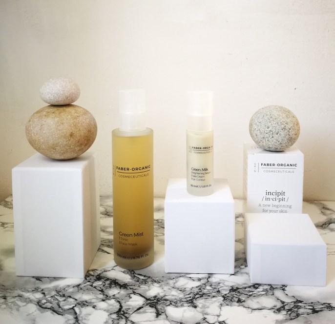Faber Organic skincare matcha tea