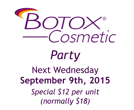 Botox Cosmetic Party