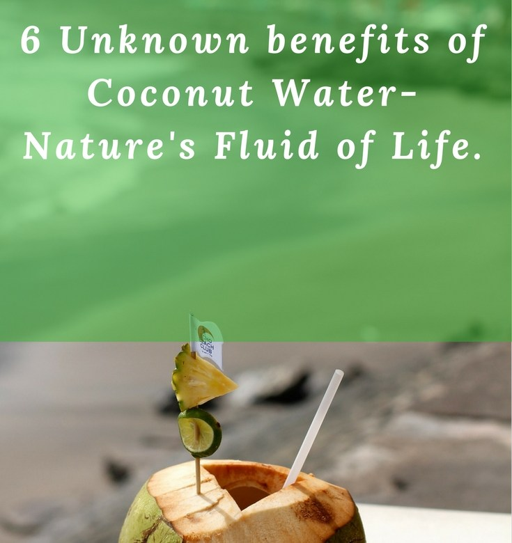 Coconut water is nature's fluid of life. Read on to know about this amazing gift of nature which is fortified with minerals as well as vitamins. Discover lesser known proven benefits of this fluid of life.