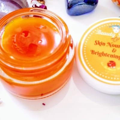 Skin Nourishing and Brightening Salve made with Sea buckthorn berries and Argan oil