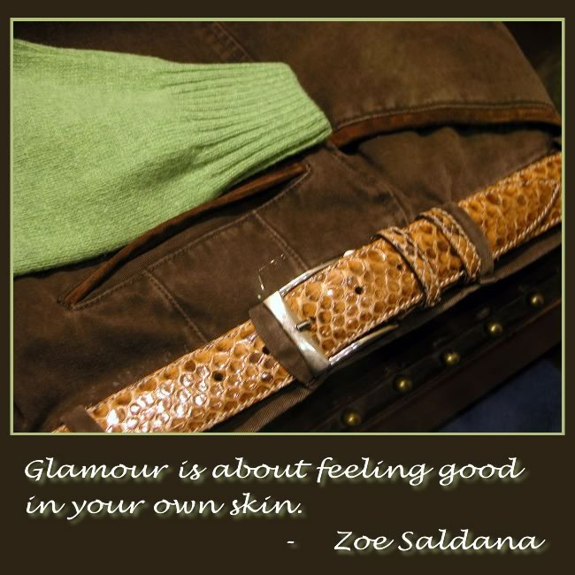 Glamourous In Your Own Skin
