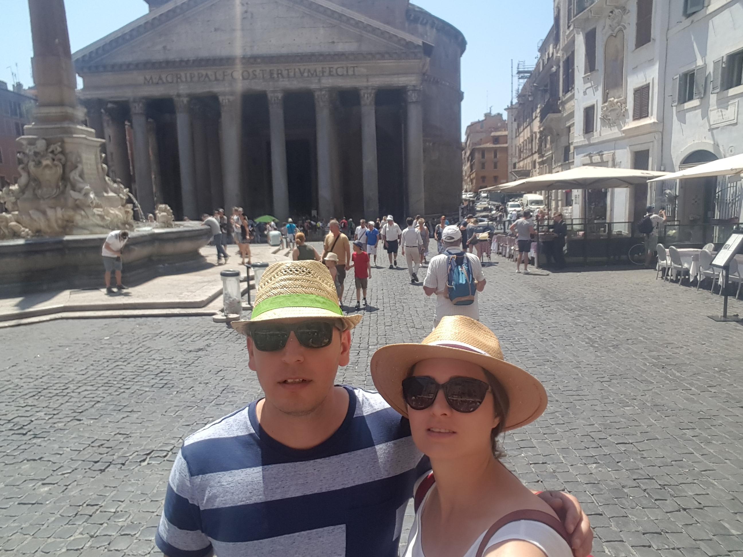 Пантеонът в Рим.