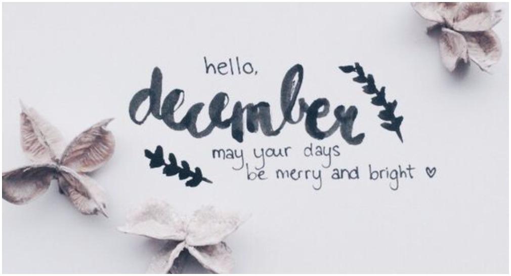 Цитат за декември