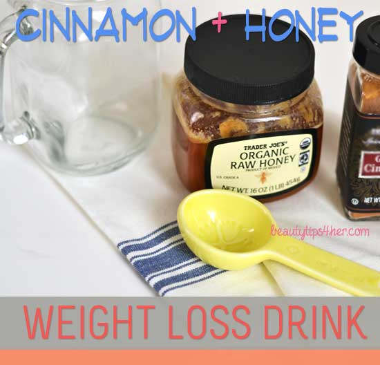 How to Lose Weight Using Cinnamon and Honey - Drink your Way to Fitness - Natural Beauty Skin Care